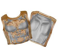 Adult Foam Roman Gladiator Cuirass Chestplate Armor 2 Piece Spartan Larp Costume