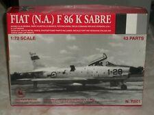 Tauro Model 1/72 Scale Resin Fiat (N.A.) F 86K Sabre