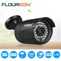 FLOUREON 1080P HD 3000TVL PAL Outdoor CCTV DVR Security Camera Night Vision Cam