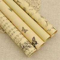 Wrapping Papers Gift Wrap Double Sided Christmas Kraft Paper Wrapping Supplies