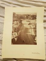 Queen's Square, Sydney OR Ferries & Bridge - 1929 Magazine Print