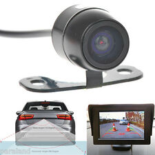 Universal Car Rear View Backup Wired Reverse IR Camera System Kit US STOCK