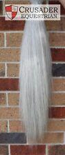 Brand New Light Grey False Tail Triple Thickness 70-75 cms Horse Pony show AUST