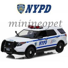 Greenlight 12973 2015 Ford Police Interceptor Utility New York Police Nypd 1/18