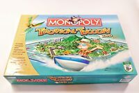 Monopoly Tropical Tycoon Board Game & DVD Hasbro Parker Brothers 2007 Complete