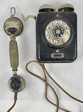 ZB SA 19 WAND-TELEFON TTG FULD FRANKFURT BLECHGEHÄUSE NUMMERNSCHALTER TA-3 SELTE