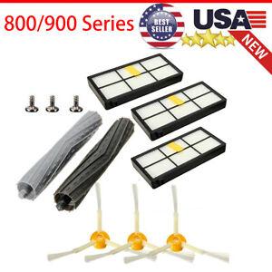 For iRobot Roomba 800 880 960 980 Brush/Filters/Extractor Set/Replenishment Kit