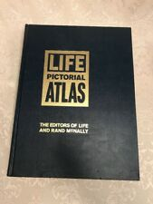 1961 Life Pictorial Atlas- Rand Mcnally- Maps And Pictures