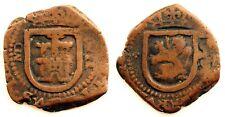 Spain-Felipe III. 8 Maravedis. Madrid. Cobre 5,1g.