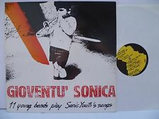 LP, Gioventu´Sonica, 11 Young Bands Play Sonic Youth´s Songs, Bestzustand, Mint-