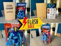 🔥 Masters Universe Skeletor Ultimates Filmation He-man Super7 MOTUC Classics🔥