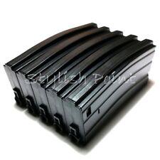 Airsoft E&C 5pcs 160rd Mag Mid-Cap Magazine For M4 M16 M-Series AEG Black