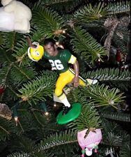 herb ADDERLY green BAY PACKERS football NFL xmas ornament HOLIDAY vtg JERSEY 26
