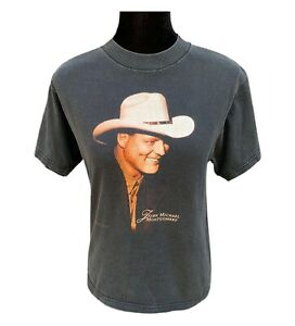 John Michael Montgomery Tshirt 1996 Vintage Country Music Tee - Women's Small
