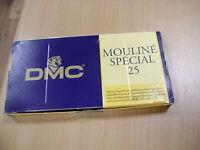 DMC lot de 2 cotons 6 fils mouliné article 117  numéro 498 gamme DMC