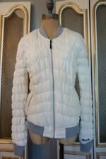 Pre-owned Bench Puffer Jacket White/Cream Large