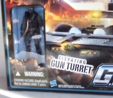 "✰ New 2010 GI Joe Cobra Fury Gun Turret With 4"" ALLEY VIPER Figure Hasbro"