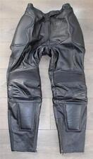 """Pelle Nera HEIN GERICKE Racing Sport Biker Jeans Pants pantaloni Taglia w31"""" l28"""