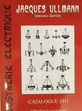 CATALOGUE/LIVRE/CATALOG/BOOK 1911  > CHANDELIER DESK LAMP SHADE WALL SCONCE