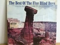 FIVE  BLIND  BOYS       LP     THE   BEST  OF  THE  FIVE  BLIND  BOYS