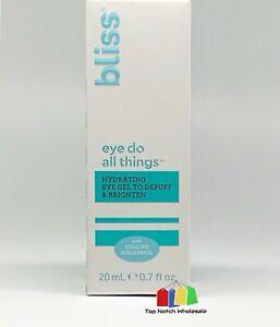 Bliss Eye Do All Things Hydrating Eye Gel Depuff & Brighten 0.7 oz