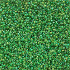 Toho tesoros 11 dentro de Color Brillo Cristal/Menta Verde Forrado TT-01-184 (Q49/1)