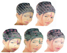 Haar Tattoo Body Schmuck Bindy Tikka Sticker Strass Bindy Bollywood Hair Fashion