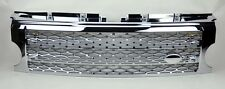 LR3 Discovery 3 05-09 All Chrome Honeycomb Mesh Front Bumper Hood Grill