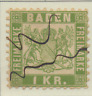 Baden (German State) Stamp Scott #26, Used