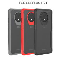 Hybrid Back Case For OnePlus 7T 7 Pro 6 6T Shockproof Rubber Bumper Clear Cover