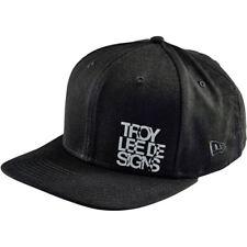 Troy Lee Designs NEW Mx Lockup Black Adult OSFM Adjustable Snapback Cap Hat