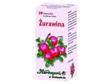 ŻURAWINA Herbapol 30 kaps. wspomaga układ moczowy / CRANBERRY urinary tract