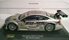 BURAGO  RACE 1:32 AUTO DIE CAST MERCEDES AMG C-COUPE' #5 J.GREEN ART 18-41151