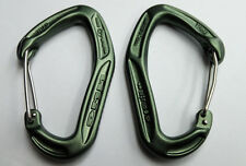 Pack of 2 x DMM Alpha Trad Carabiners - Olive - Tactical -Military Karabiners