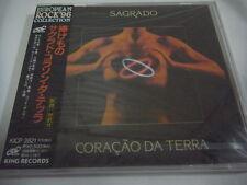 SEALED NEW SAGRADO CORACAO DA TERRA-same JAPAN Press w/OBI Genesis Yes PFM Rush