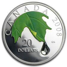 Canada / Kanada - 20$ 2008 Crystal Raindrop