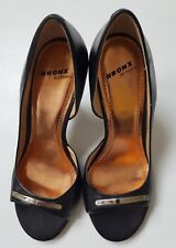 BRONX leather shoes size 4. Occasion or work wear. Buy it now price £10.99!