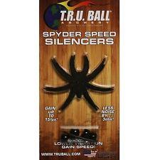 TRU Ball Archery T.R.U. Spyder Speed Silencers 4 Pack w/ Accelerator Balls 03006