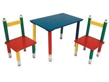 Kindertisch Mit Stuhlen Holz Gunstig Kaufen Ebay