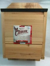 Cedar Bat House by Nature's Way. Holds 300 Bats! New, no box.
