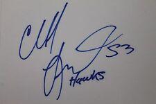 Cliff Levingston Atlanta Hawks Bulls Wichita St Autographed 3x5 Index Card 16L