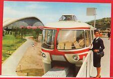 MONOROTAIA ALWEG 1961 cartolina di TORINO viaggiata centenario unità d' Italia