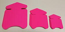 60 Pfeile in 3 Größen Neon pink Preisschild aus Karton Werbung Räumungsverkauf