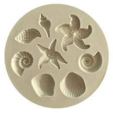Silikon Backformen Keks Kuchenform Fondant Schimmel Marine Conch Shell Dekor