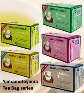 YAMAMOTOYAMA Japanese tea bag series ( Green, Oolong, Genmai, Hoji, jasmine)