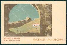 Militari Grecia Salonicco Saloniki 1941 FG cartolina XF3082