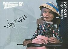 "Thunderbirds 50 years - JC Joy Cuff ""Puppetmaker"" Autograph Card"