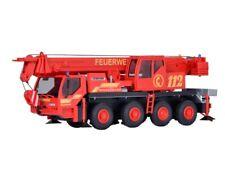 Kibri 13041 Feuerwehr Kranwagen LIEBHERR LTM 1050/4, Bausatz, Spur H0