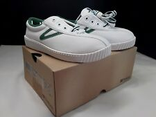 TRETORN NYLITE WHITE CANVAS SNEAKERS new in box kids 12 1/2 euro 30 2 laces