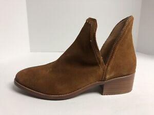 Steve Madden Demure Women's Size 8M Brown Slip On Booties